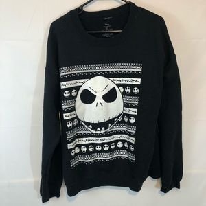 Nightmare Before Christmas Crewneck Jack L